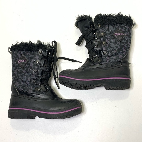 quest Other - Girls size 13 K Quest Warm Thjnsulate Winter Boots